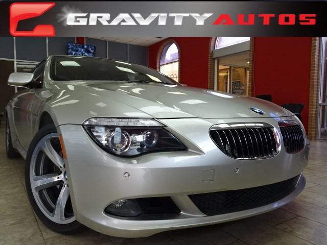 Used 2008 BMW 6 Series 650i for sale Sold at Gravity Autos in Roswell GA 30076 1