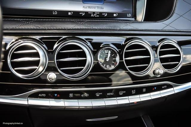 Used 2017 Mercedes-Benz S-Class Maybach S550 for sale $86,995 at Gravity Autos Atlanta in Chamblee GA 30341 14