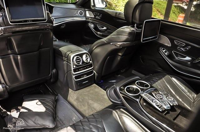 Used 2017 Mercedes-Benz S-Class Maybach S550 for sale $86,995 at Gravity Autos Atlanta in Chamblee GA 30341 25