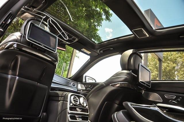 Used 2017 Mercedes-Benz S-Class Maybach S550 for sale $86,995 at Gravity Autos Atlanta in Chamblee GA 30341 28