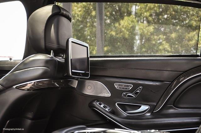 Used 2017 Mercedes-Benz S-Class Maybach S550 for sale $86,995 at Gravity Autos Atlanta in Chamblee GA 30341 29