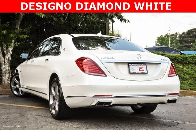 Used 2017 Mercedes-Benz S-Class Maybach S550 for sale $86,995 at Gravity Autos Atlanta in Chamblee GA 30341 3