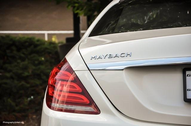Used 2017 Mercedes-Benz S-Class Maybach S550 for sale $86,995 at Gravity Autos Atlanta in Chamblee GA 30341 6