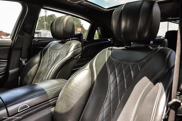 Used 2017 Mercedes-Benz S-Class Maybach S550 for sale $86,995 at Gravity Autos Atlanta in Chamblee GA 30341 9
