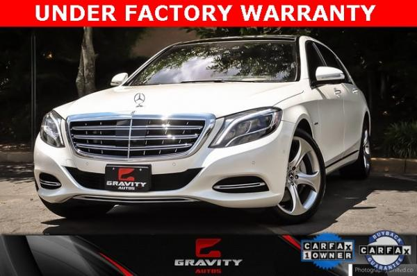 Used Used 2017 Mercedes-Benz S-Class Maybach S550 for sale $86,995 at Gravity Autos Atlanta in Chamblee GA
