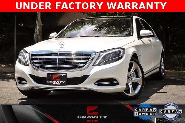 Used 2017 Mercedes-Benz S-Class Maybach S550 for sale $86,995 at Gravity Autos Atlanta in Chamblee GA 30341 1