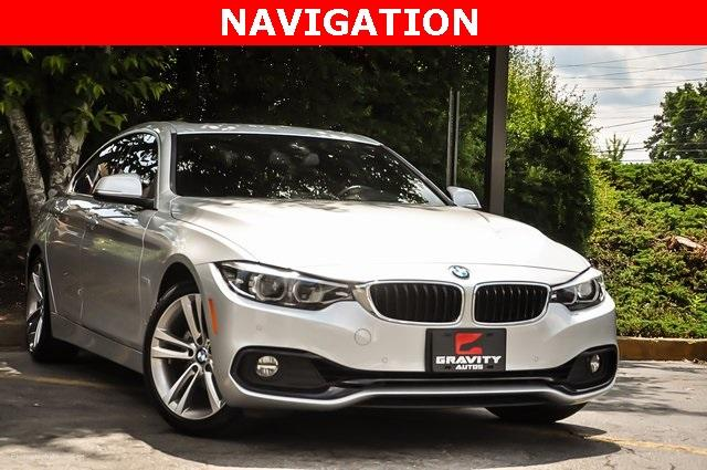 Used 2018 BMW 4 Series 430i Gran Coupe for sale $29,799 at Gravity Autos Atlanta in Chamblee GA 30341 2