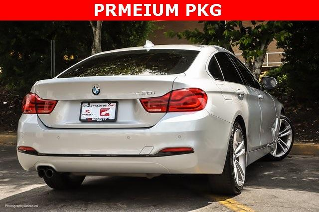 Used 2018 BMW 4 Series 430i Gran Coupe for sale $29,799 at Gravity Autos Atlanta in Chamblee GA 30341 4