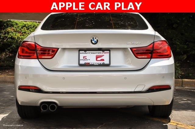 Used 2018 BMW 4 Series 430i Gran Coupe for sale $29,799 at Gravity Autos Atlanta in Chamblee GA 30341 5