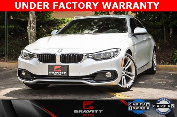 Used Used 2018 BMW 4 Series 430i Gran Coupe for sale $29,799 at Gravity Autos Atlanta in Chamblee GA