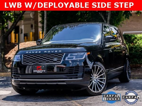 Used Used 2018 Land Rover Range Rover 5.0L V8 Supercharged for sale $89,995 at Gravity Autos Atlanta in Chamblee GA
