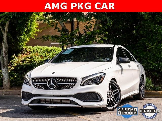Used 2018 Mercedes-Benz CLA CLA 250 for sale $28,995 at Gravity Autos Atlanta in Chamblee GA 30341 1