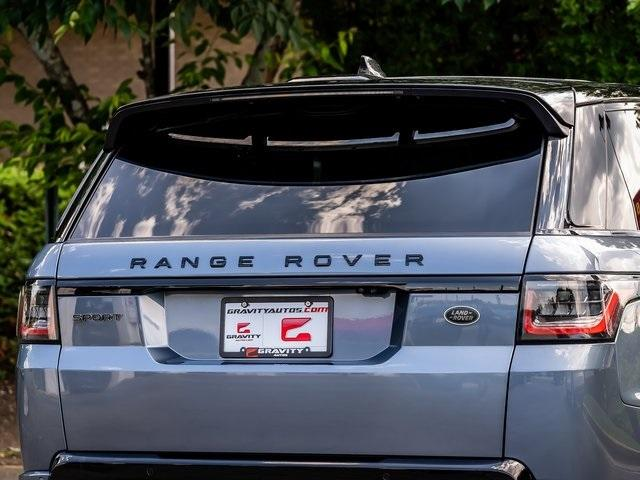 Used 2018 Land Rover Range Rover Sport HSE Dynamic for sale Sold at Gravity Autos Atlanta in Chamblee GA 30341 44