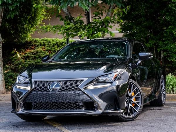 Used Used 2018 Lexus RC 350 for sale $40,995 at Gravity Autos Atlanta in Chamblee GA