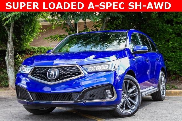 Used 2019 Acura MDX 3.5L Technology Pkg w/A-Spec Pkg for sale Sold at Gravity Autos Atlanta in Chamblee GA 30341 1