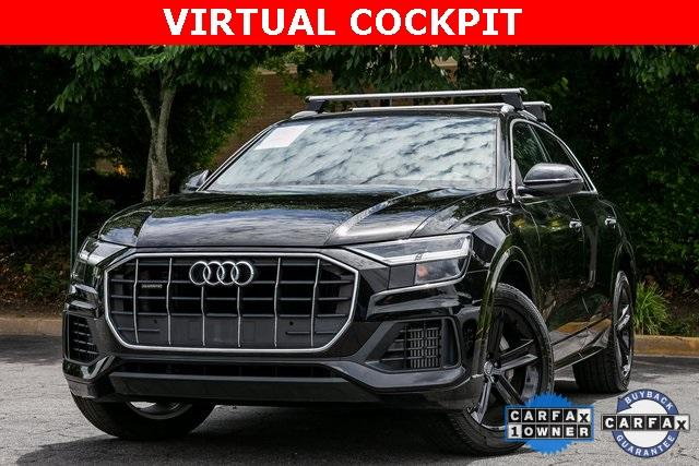 Used 2019 Audi Q8 for sale Sold at Gravity Autos Atlanta in Chamblee GA 30341 1