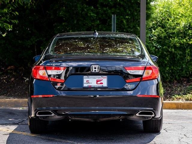 Used 2020 Honda Accord Sport 2.0T for sale $28,995 at Gravity Autos Atlanta in Chamblee GA 30341 39