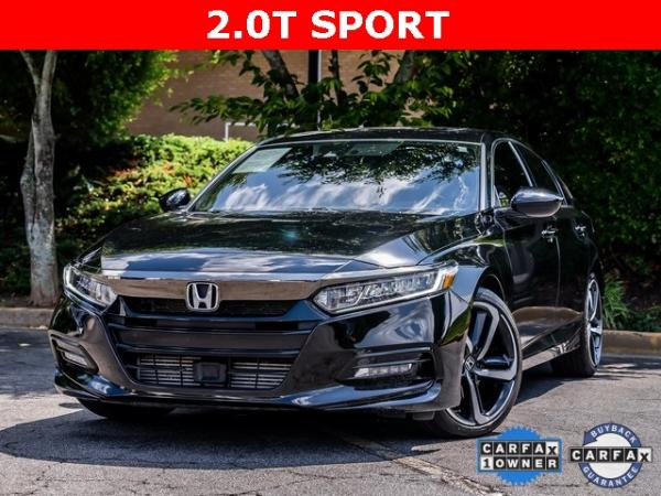 Used Used 2020 Honda Accord Sport 2.0T for sale $28,995 at Gravity Autos Atlanta in Chamblee GA