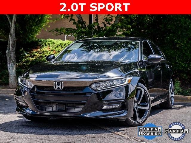 Used 2020 Honda Accord Sport 2.0T for sale $28,995 at Gravity Autos Atlanta in Chamblee GA 30341 1