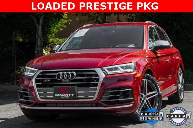 Used 2018 Audi SQ5 3.0T Prestige for sale $43,499 at Gravity Autos Atlanta in Chamblee GA 30341 1