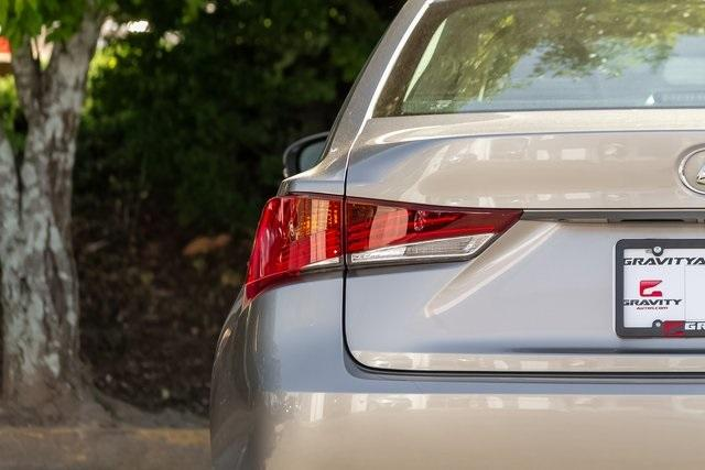 Used 2018 Lexus IS 300 for sale $29,749 at Gravity Autos Atlanta in Chamblee GA 30341 39