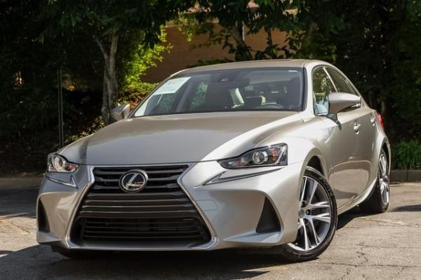 Used Used 2018 Lexus IS 300 for sale $29,749 at Gravity Autos Atlanta in Chamblee GA