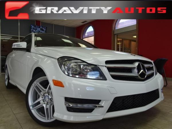 Used 2013 Mercedes-Benz C-Class C250 for sale Sold at Gravity Autos in Roswell GA 30076 1