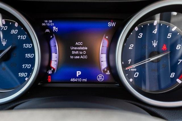 Used 2017 Maserati Ghibli S for sale Sold at Gravity Autos Atlanta in Chamblee GA 30341 19