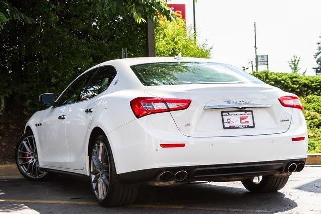 Used 2017 Maserati Ghibli S for sale Sold at Gravity Autos Atlanta in Chamblee GA 30341 43