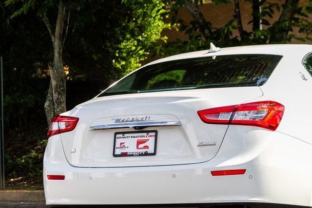 Used 2017 Maserati Ghibli S for sale Sold at Gravity Autos Atlanta in Chamblee GA 30341 45