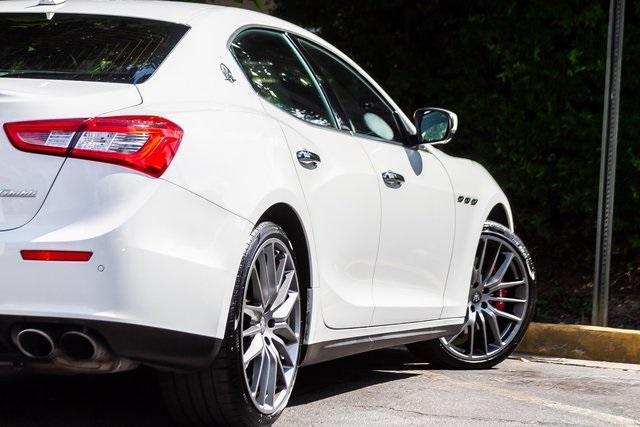 Used 2017 Maserati Ghibli S for sale Sold at Gravity Autos Atlanta in Chamblee GA 30341 46