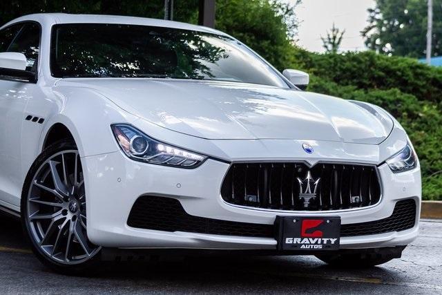 Used 2017 Maserati Ghibli S for sale Sold at Gravity Autos Atlanta in Chamblee GA 30341 48