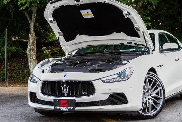 Used 2017 Maserati Ghibli S for sale Sold at Gravity Autos Atlanta in Chamblee GA 30341 49