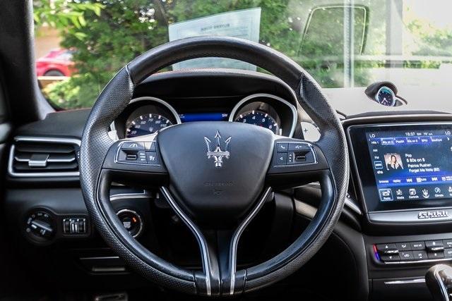 Used 2017 Maserati Ghibli S for sale Sold at Gravity Autos Atlanta in Chamblee GA 30341 9