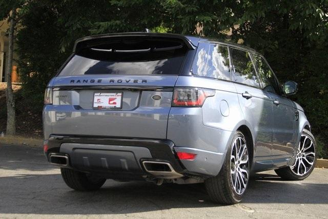 Used 2018 Land Rover Range Rover Sport HSE Dynamic for sale $71,995 at Gravity Autos Atlanta in Chamblee GA 30341 44