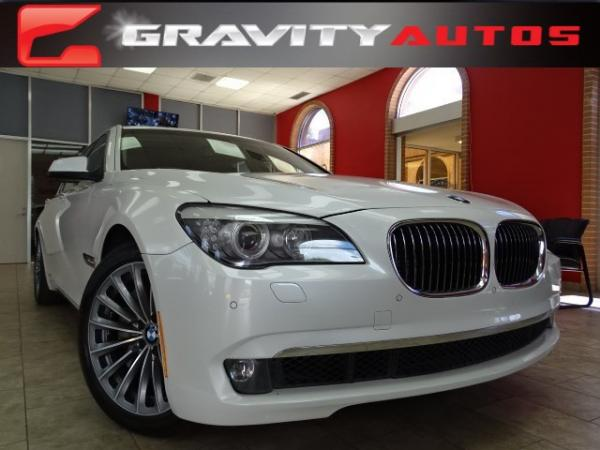 Used 2011 BMW 7 Series 750Li for sale Sold at Gravity Autos in Roswell GA 30076 1