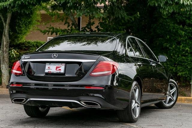 Used 2018 Mercedes-Benz E-Class E 300 for sale $35,995 at Gravity Autos Atlanta in Chamblee GA 30341 41