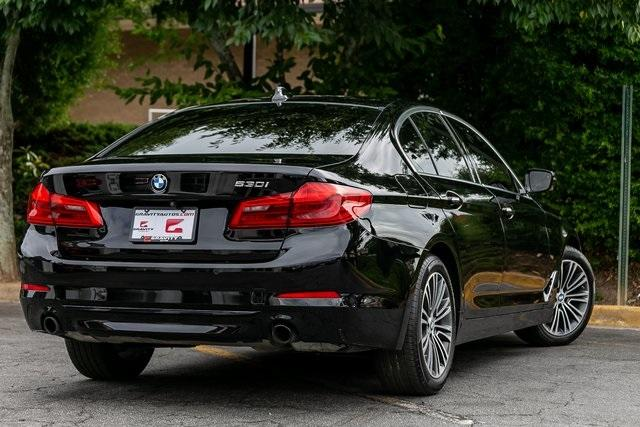 Used 2018 BMW 5 Series 530i for sale $34,295 at Gravity Autos Atlanta in Chamblee GA 30341 43