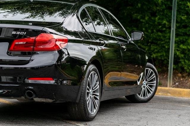 Used 2018 BMW 5 Series 530i for sale $34,295 at Gravity Autos Atlanta in Chamblee GA 30341 44