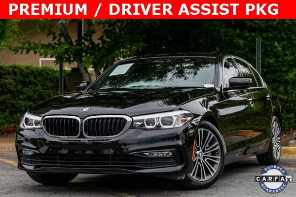 Used Used 2018 BMW 5 Series 530i for sale $34,295 at Gravity Autos Atlanta in Chamblee GA