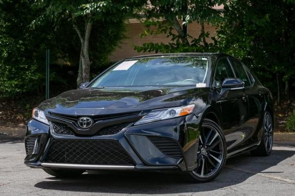 Used Used 2020 Toyota Camry XSE for sale $30,800 at Gravity Autos Atlanta in Chamblee GA