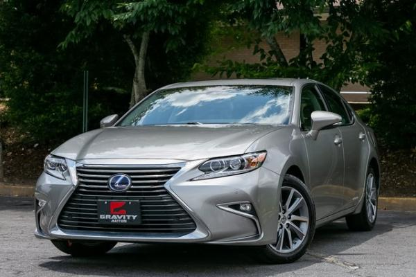 Used Used 2018 Lexus ES 300h for sale $31,699 at Gravity Autos Atlanta in Chamblee GA