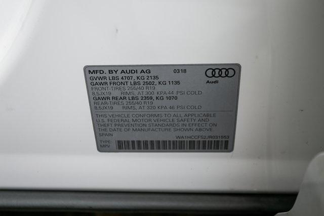Used 2018 Audi Q3 2.0T Premium Plus for sale $29,795 at Gravity Autos Atlanta in Chamblee GA 30341 29