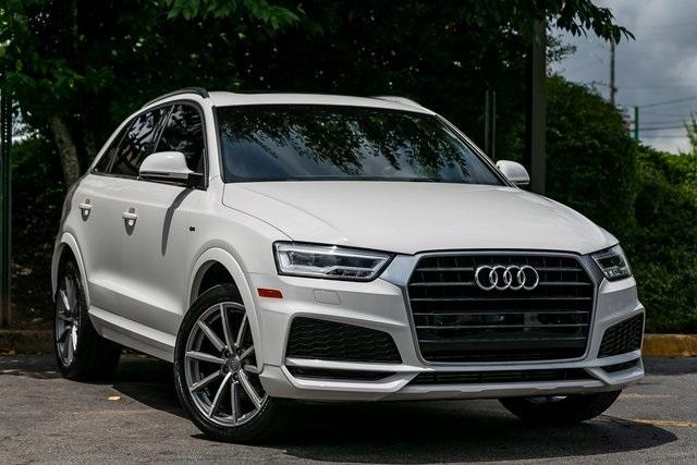 Used 2018 Audi Q3 2.0T Premium Plus for sale $29,795 at Gravity Autos Atlanta in Chamblee GA 30341 3