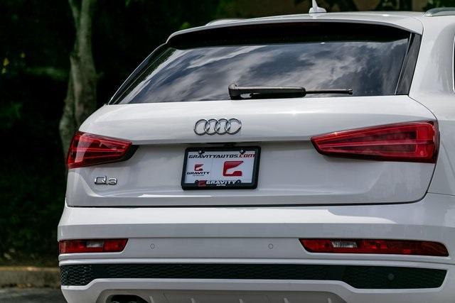 Used 2018 Audi Q3 2.0T Premium Plus for sale $29,795 at Gravity Autos Atlanta in Chamblee GA 30341 43
