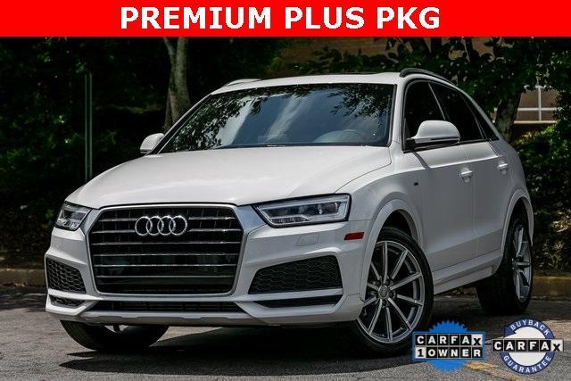 Used 2018 Audi Q3 2.0T Premium Plus for sale $29,795 at Gravity Autos Atlanta in Chamblee GA 30341 1