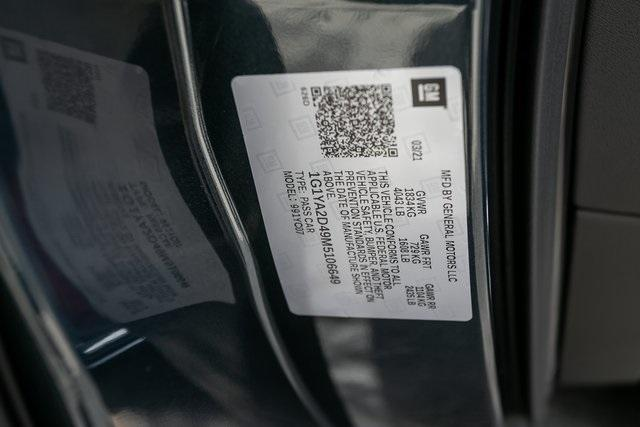 Used 2021 Chevrolet Corvette Stingray for sale $98,995 at Gravity Autos Atlanta in Chamblee GA 30341 50