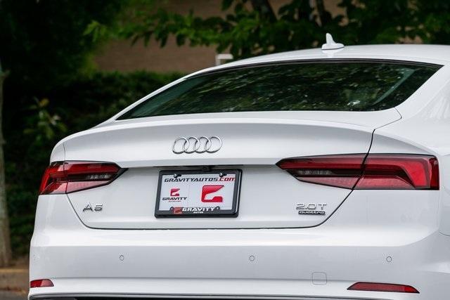 Used 2018 Audi A5 2.0T Premium Plus for sale $35,195 at Gravity Autos Atlanta in Chamblee GA 30341 50