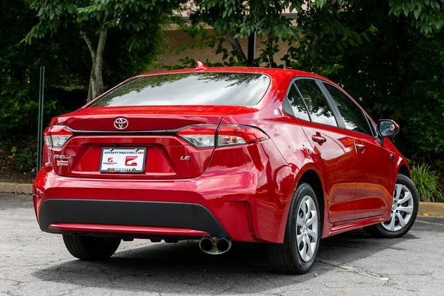 Used 2020 Toyota Corolla LE for sale $19,295 at Gravity Autos Atlanta in Chamblee GA 30341 34