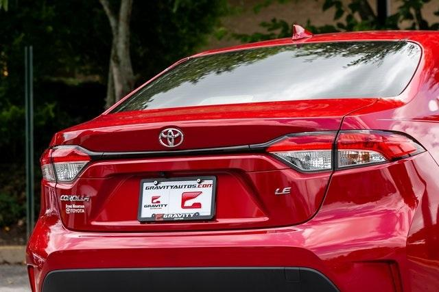 Used 2020 Toyota Corolla LE for sale $19,295 at Gravity Autos Atlanta in Chamblee GA 30341 36